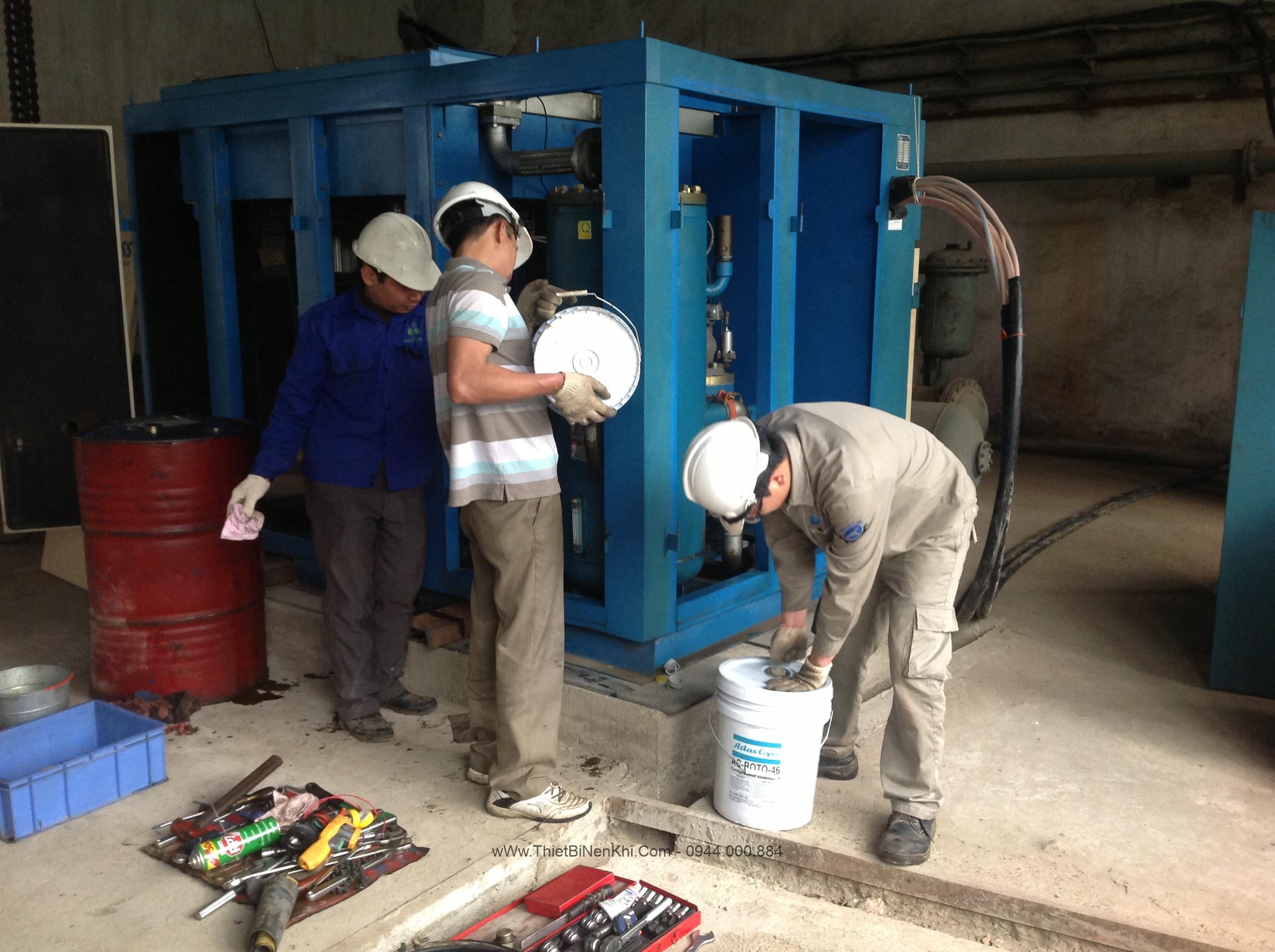 Hợp đồng cung cấp dầu máy nén khí cho công ty Nagasaky Nhật Bản