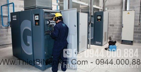 Hợp đồng bảo trì định kỳ hệ thống máy nén khí công ty Dầu ăn Golden Hope Nhà Bè