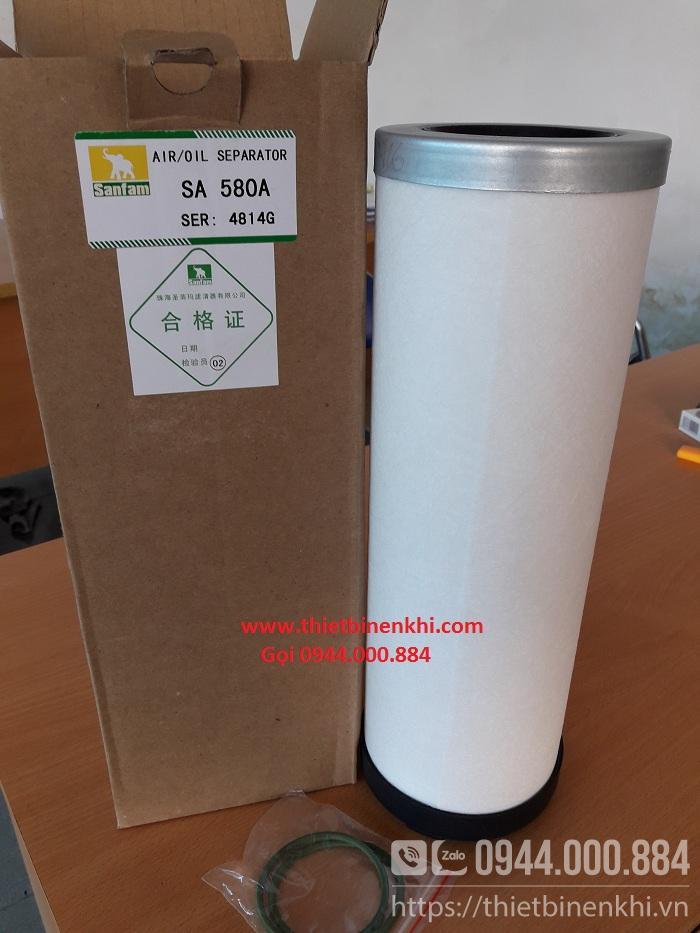 Lọc dầu máy nén khí Hitachi 50HP (SA 580A 4814G)