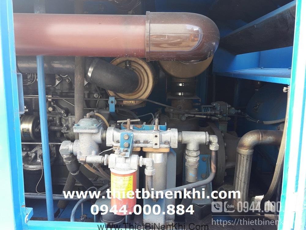 máy nén khí chạy dầu airman