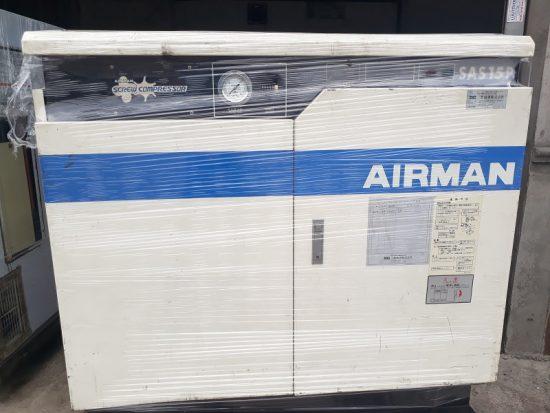 Máy nén khí Airman 15Kw, 20HP nội địa Nhật