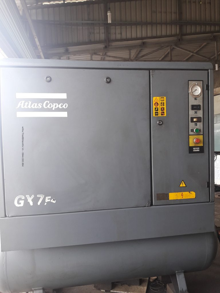 máy nén khí atlascopco nhập khẩu từ Bỉ