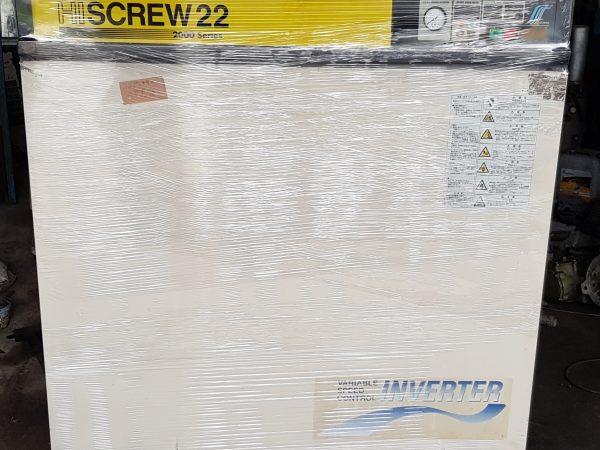 Máy nén khí Hitachi 22Kw ~ 30Hp inverter