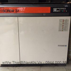 Máy nén khí Hitachi OSP-375SAR 37Kw ~ 50HP nội địa Nhật