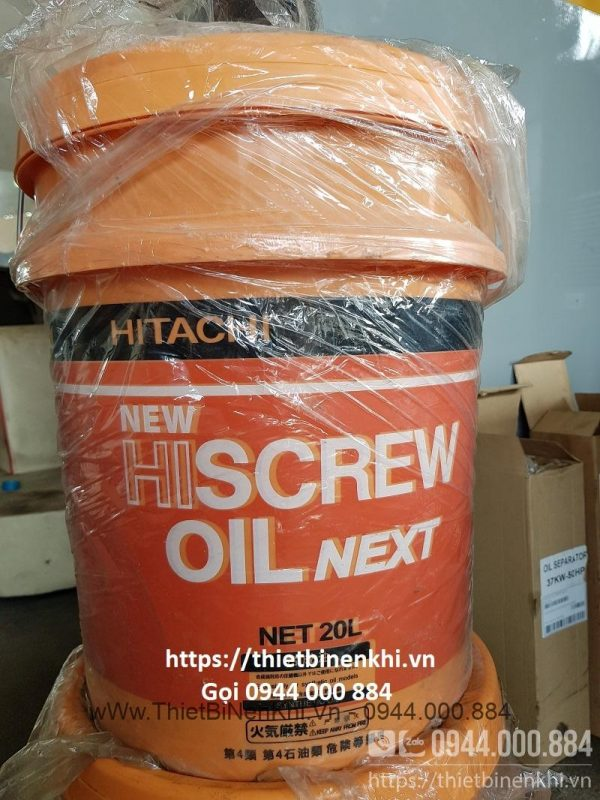 Dầu máy nén khí Hitachi chính hãng