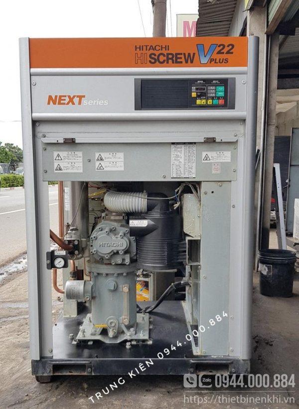 máy nén khí hitachi 22kw next series