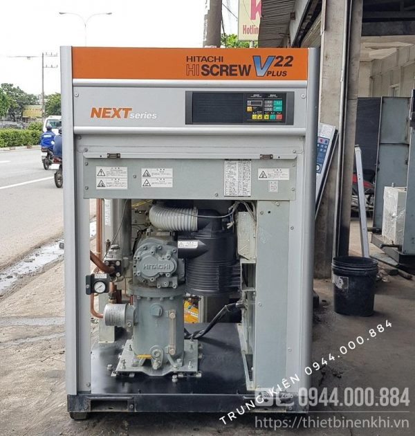 máy nén khí hitachi Vplus Next series