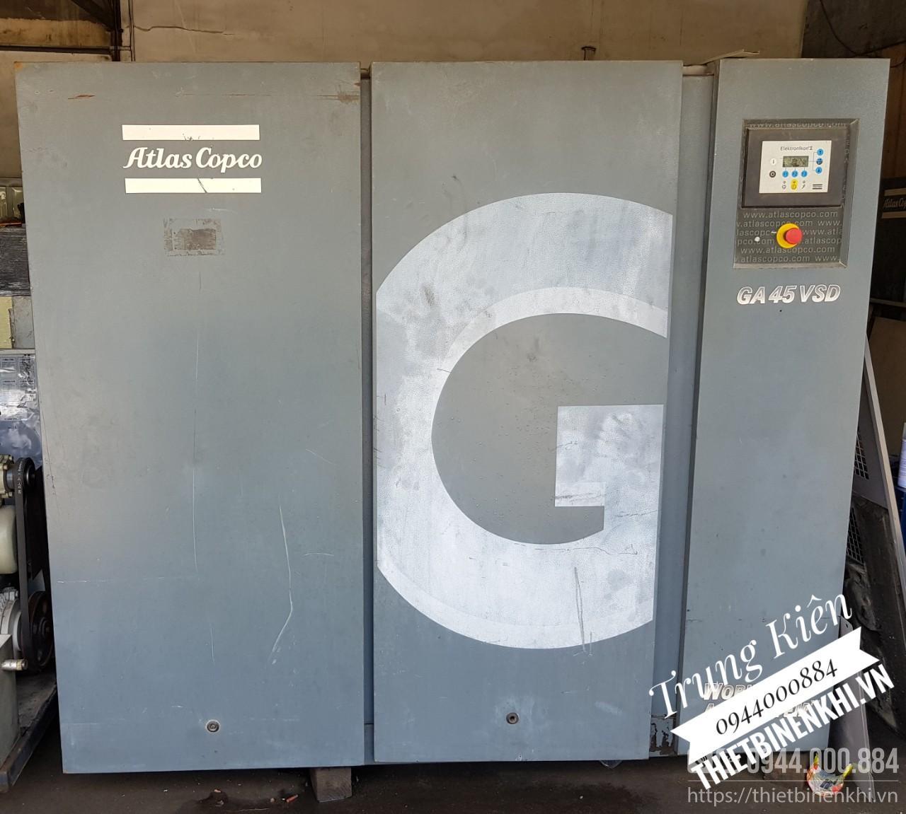 máy nén khí atlas copco 45kw