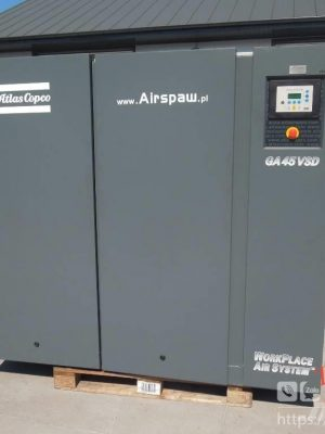 máy nén khí atlas copco biến tần
