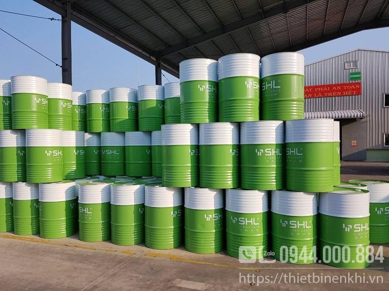 dầu máy nén khí
