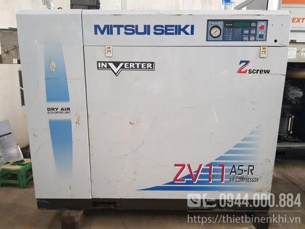 máy nén khí 11kw inverter mitsuiseiki