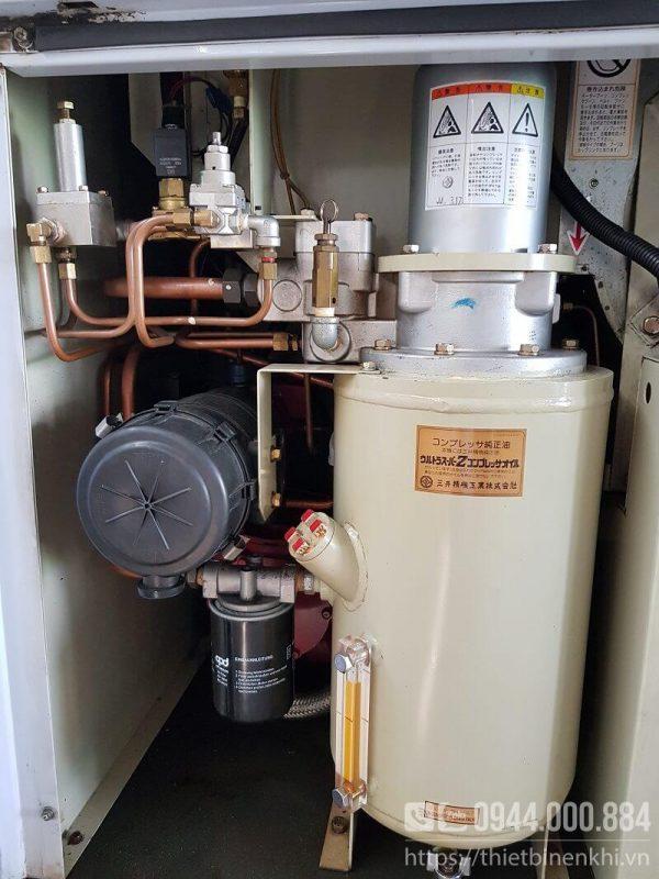 máy nén khí mitsuiseiki 11kw inverter