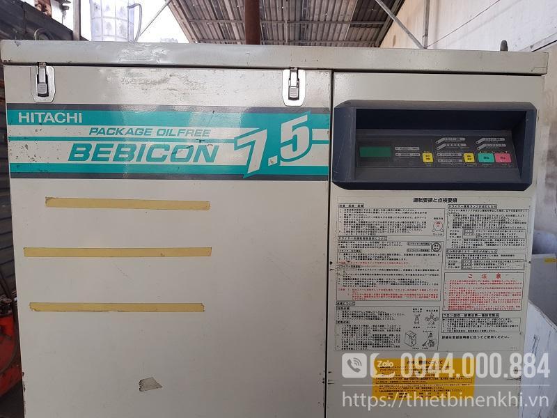 máy nén khí hitachi bebicon 7.5kw