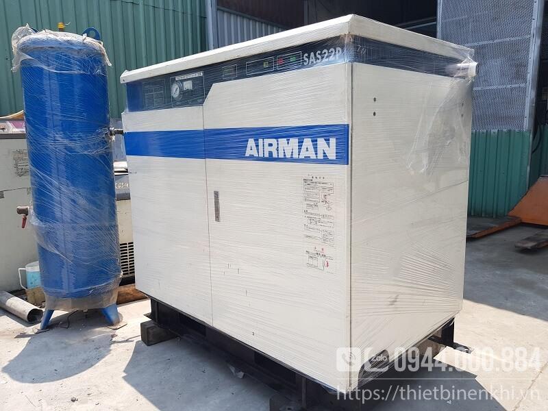 máy nén khí airman cũ