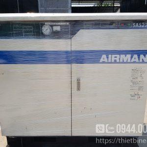 Máy nén khí Airman SAS22P 30HP nội địa Nhật