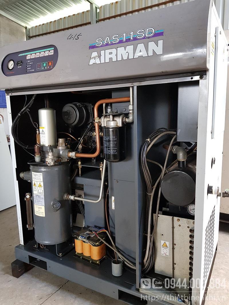 máy nén khí airman sas11sd