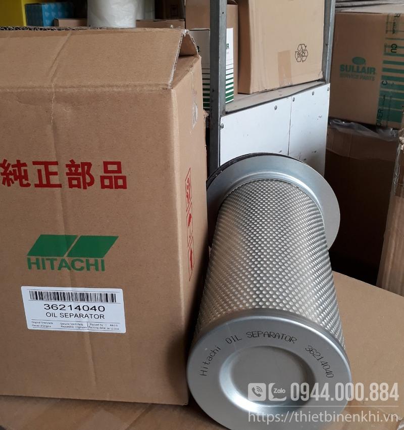 Lọc tách dầu máy nén khí Hitachi 37kw 50hp
