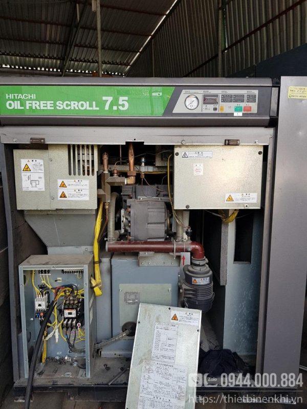 Máy nén khí không dầu 7.5kw