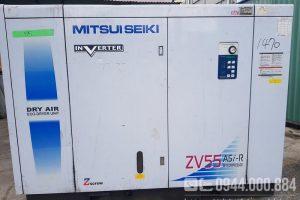 Máy nén khí Mitsuiseiki 75Hp (55kw) inverter nội địa Nhật