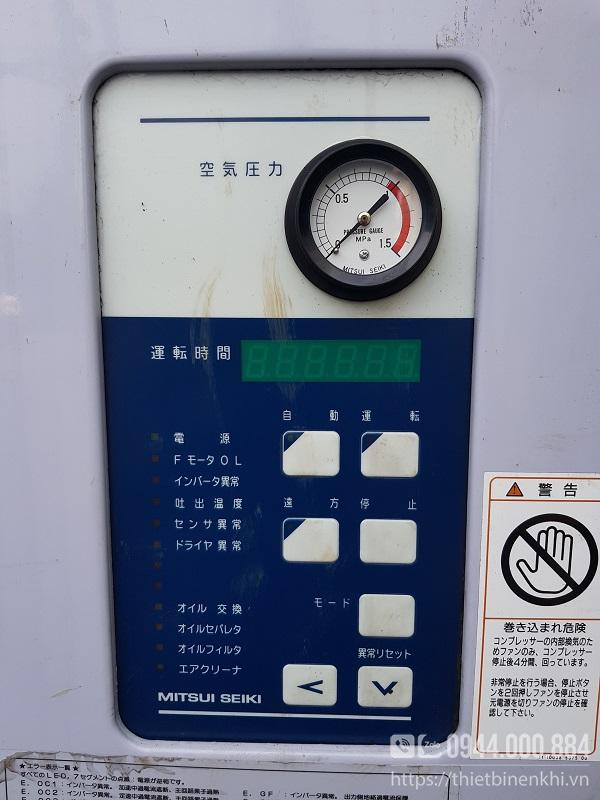Máy nén khí Mitsuiseiki 10hp nội địa Nhật